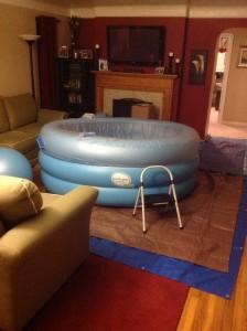 Home birth tub