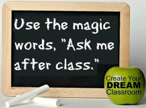 Quote from Create Your Dream Classroom