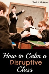 How to Calm a Disruptive Class: The Quick & Easy Method that Saved My Sanity