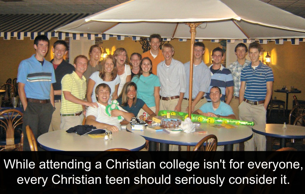 Why Every Christian Teen Should Consider Christian College