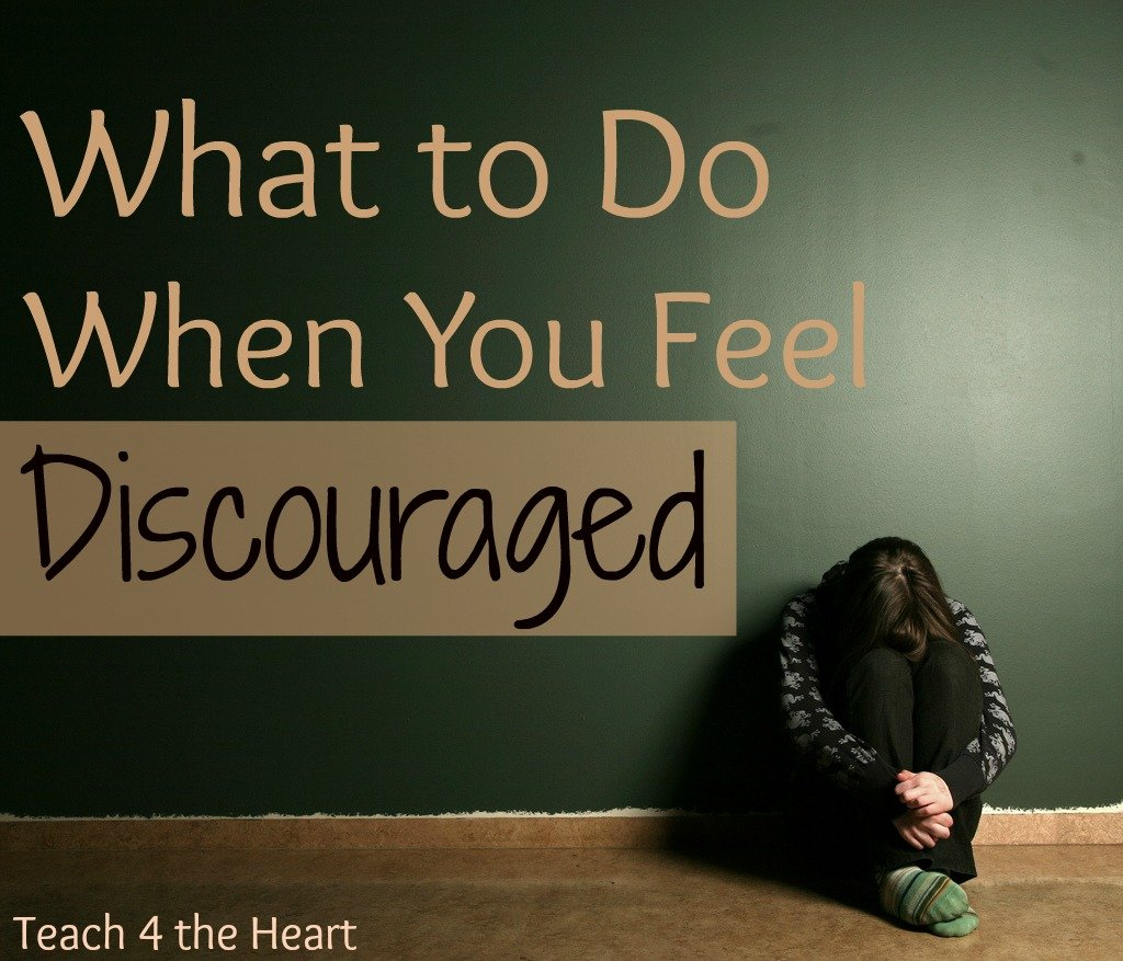 Dealing with Discouraging Days