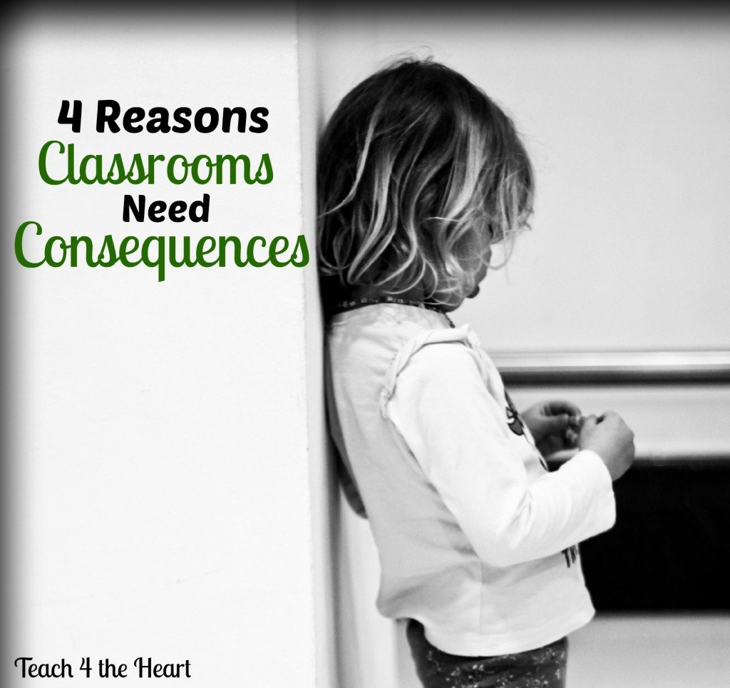 Why Classrooms Need Consequences