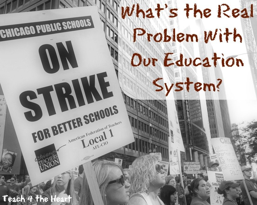 w What's Really Wrong with our Education System: ViewPost on Teach 4 the Heart