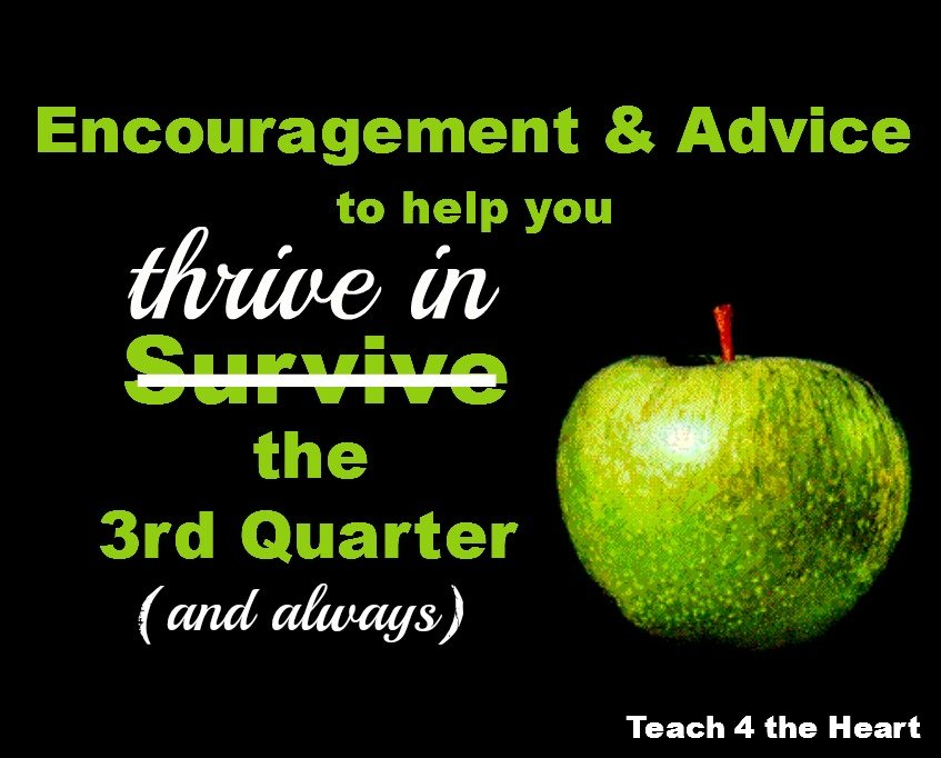 Encouragement & Advice for Surviving the 3rd Quarter