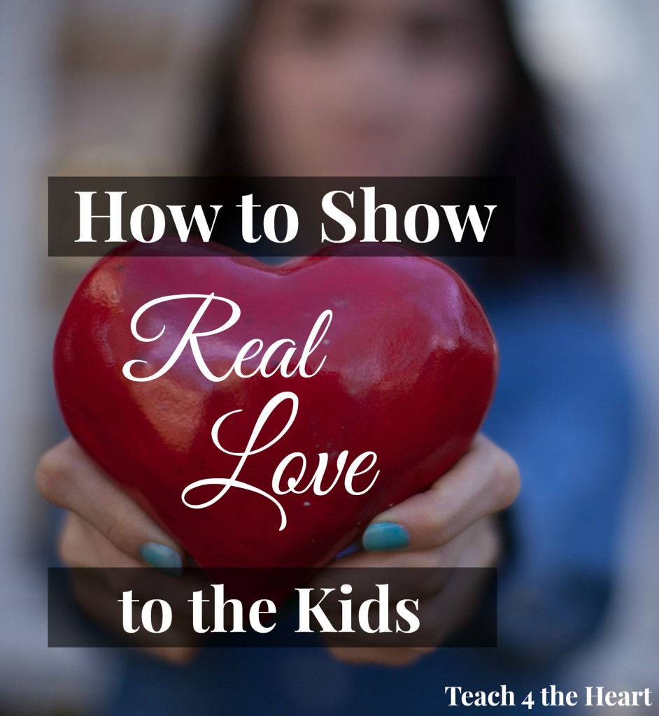 how to show real love kids