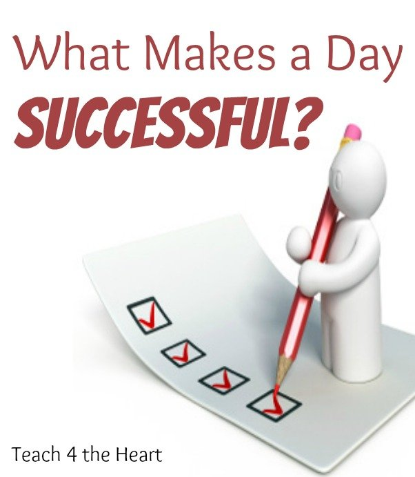 What makes a day successful?