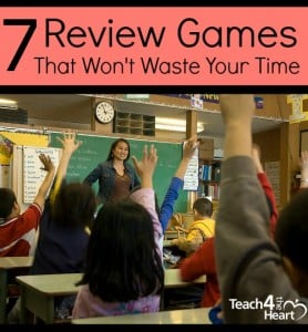 7 Classroom Review Games that won't waste your time