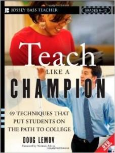 Teach Like a Champion - great books for teachers