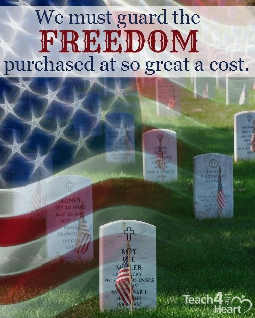 The Cost of Freedom & Why We Must Guard It