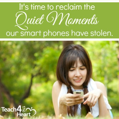 Say No to the Phone: Reclaiming the Quiet Moments our Devices Have Stolen