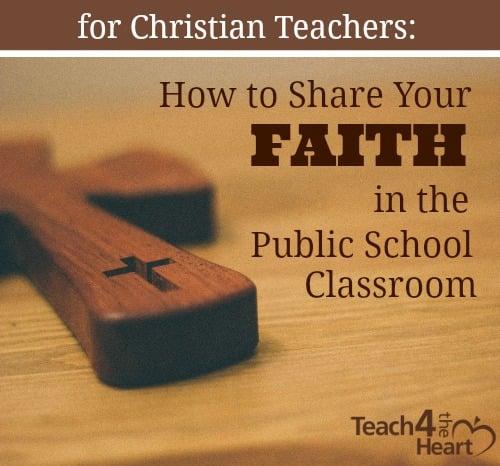 2abf5125de How Christian teachers can share their faith in the public school