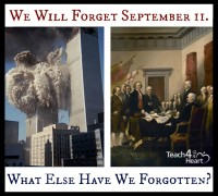 We will eventually forget 9-11. What else have we forgotten?