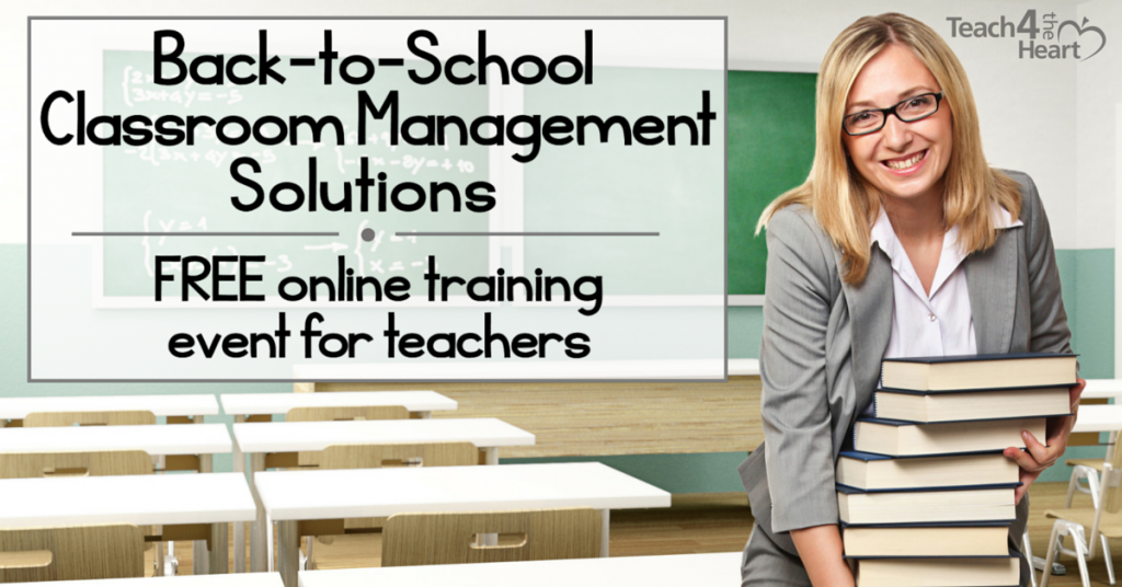 Back-to-school classroom management training