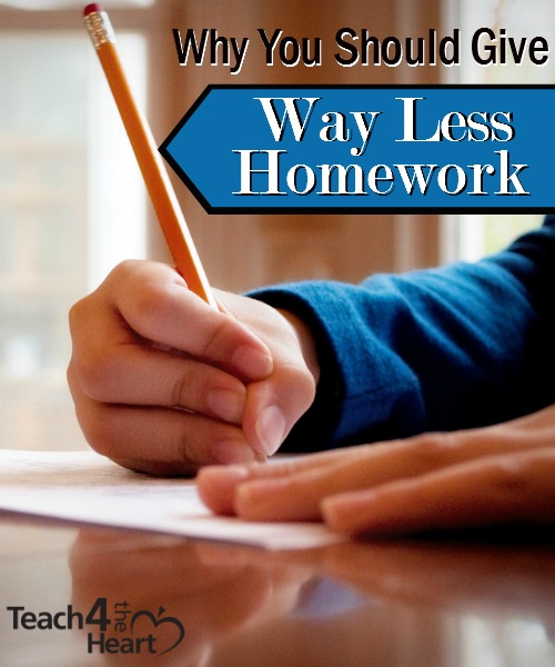 why should teachers give out homework