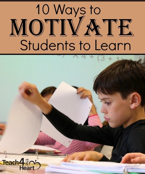 10 Ways to Motivate Students to Learn