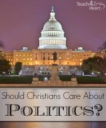 Should Christians care about politics?