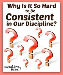 Why is it so hard to be consistent in our disscipline?