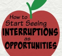 How to Start Seeing Interruptions as Opportunities