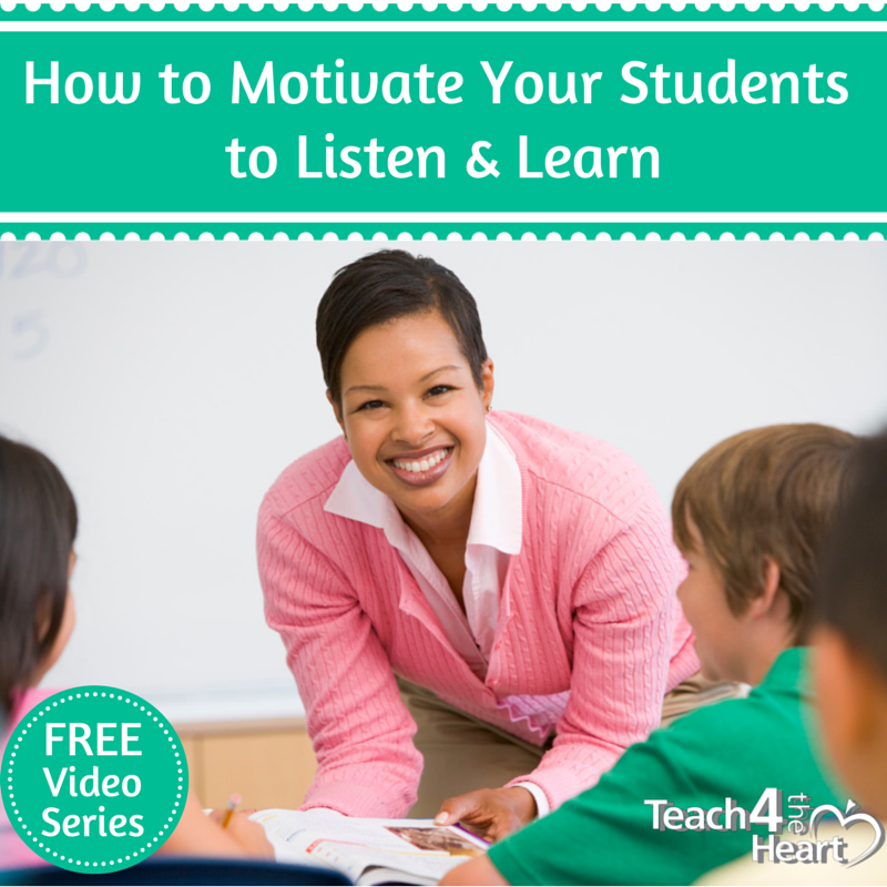 How to motivate students to listen & learn (free video series)