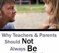 Why parents & teachers should not always be fair