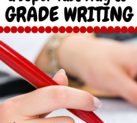 A simple way to grade writing quickly