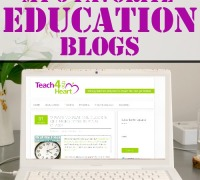 Check out these 5 great blogs for teachers