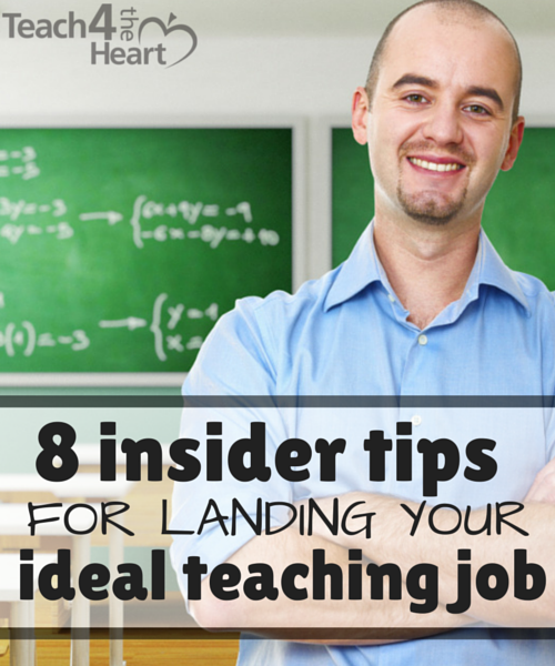 8 insider tips to help you land your ideal teaching job