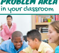 How to fix a problem area in your classroom