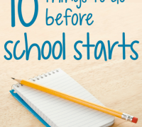 10 things teachers should do before school starts