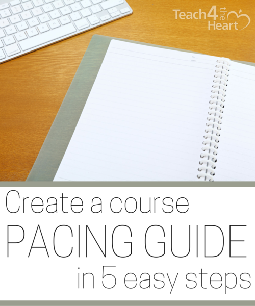 Create A Course Pacing Guide In 5 Easy Steps Why You Need One