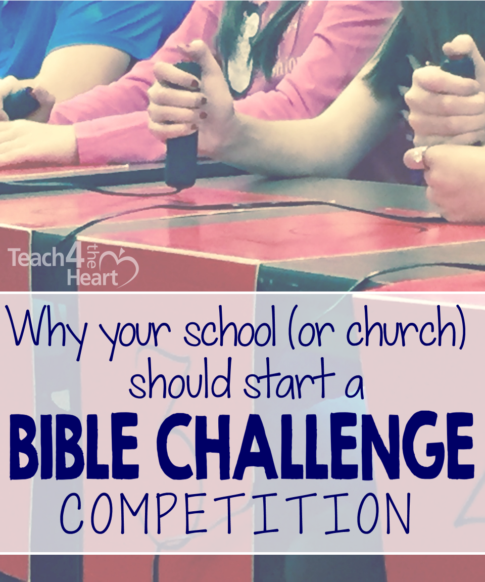 Why your school or youth group should start a Bible Challenge competition
