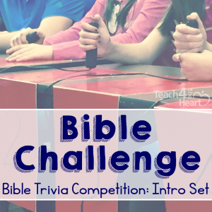 Bible Challenge cover intro set