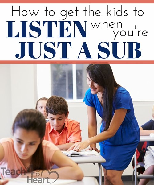 Classroom Management Ideas For Substitutes ~ Classroom management secrets for substitutes teach