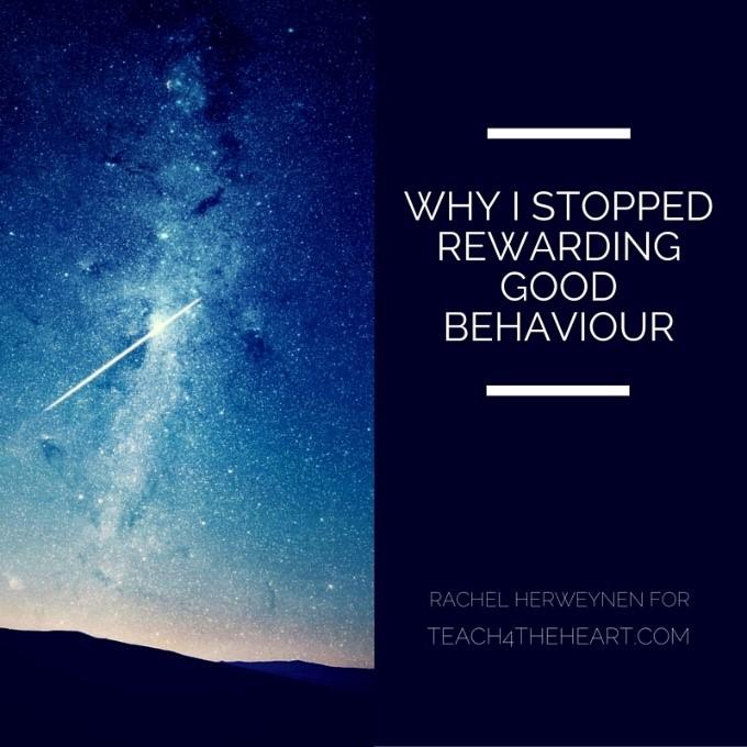 Why I stopped rewarding good behavior