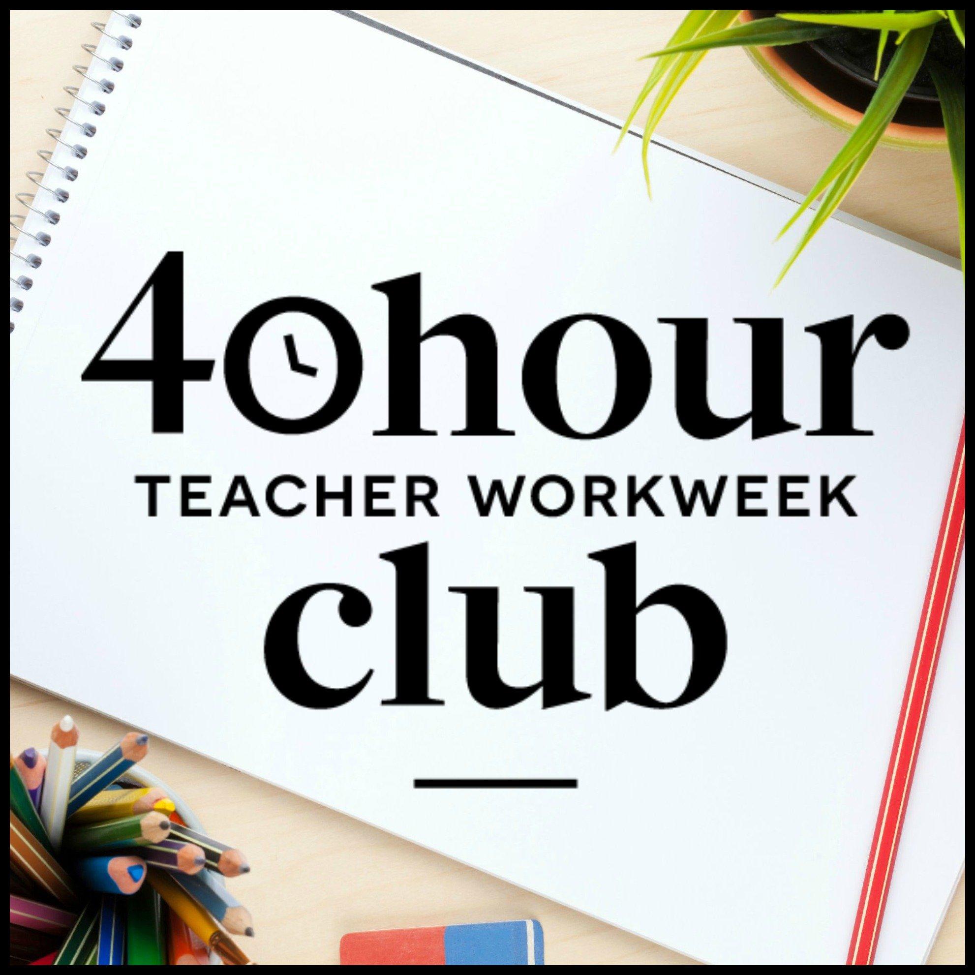 find balance with angela watson's 40 hour teacher workweek club