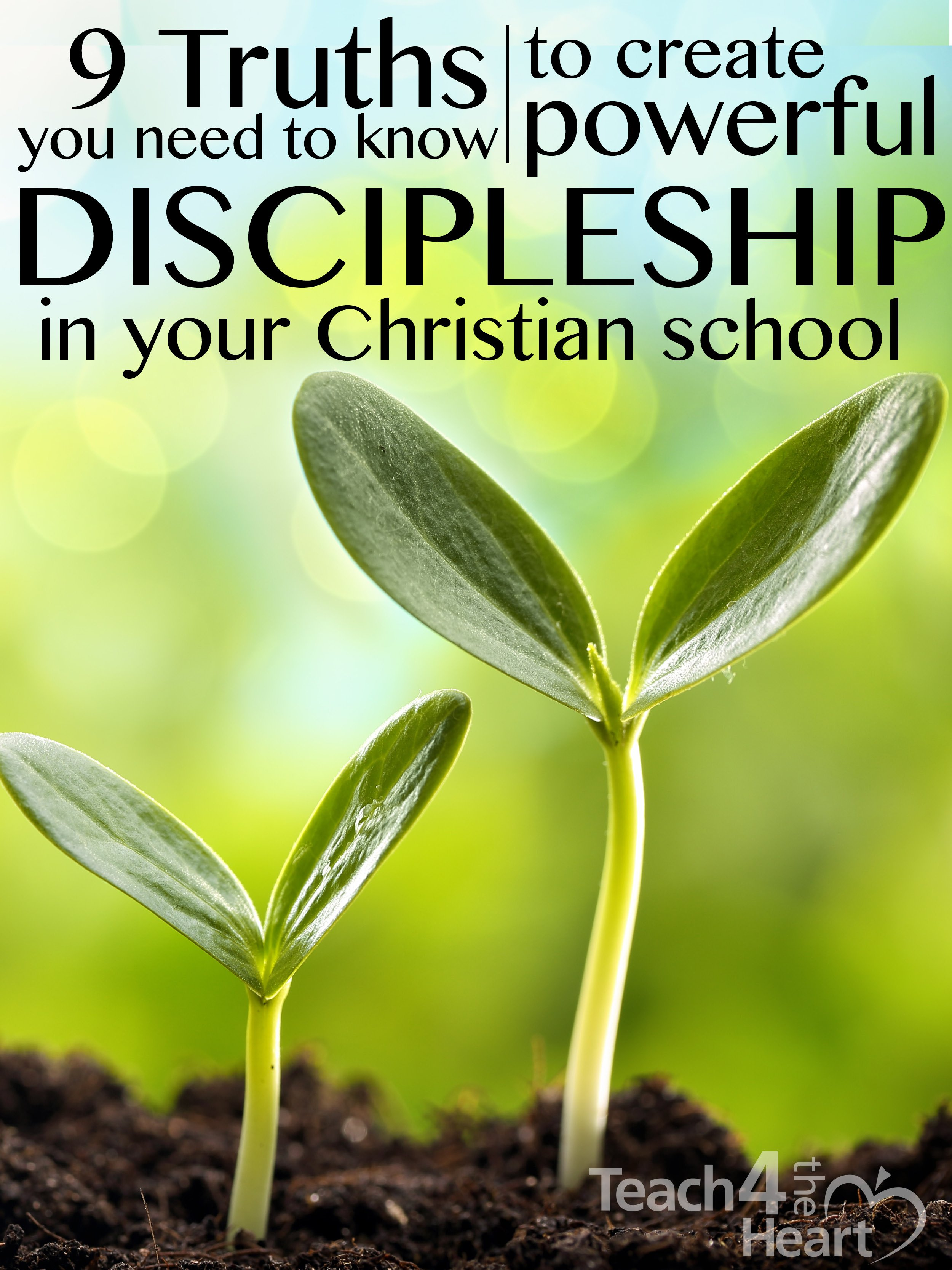 discipleship in christian school