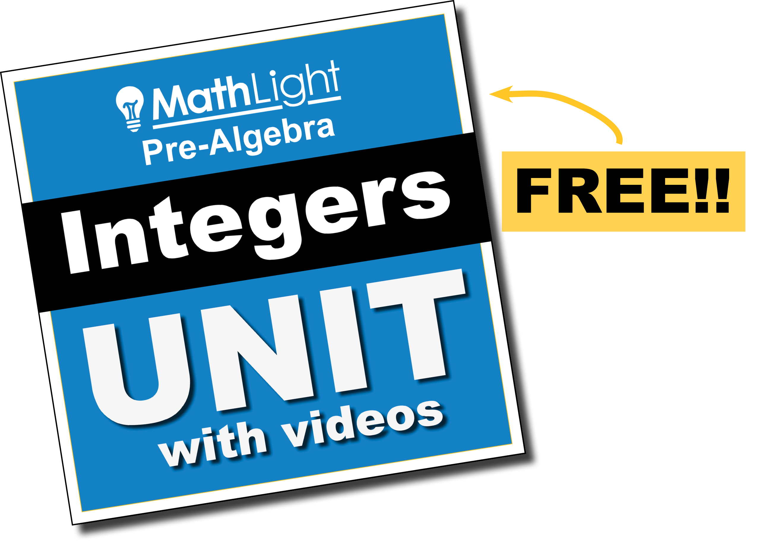 free pre algebra integers unit with videos - perfect for flipping your class. includes videos, student notes, practice / homework, assessments, and more