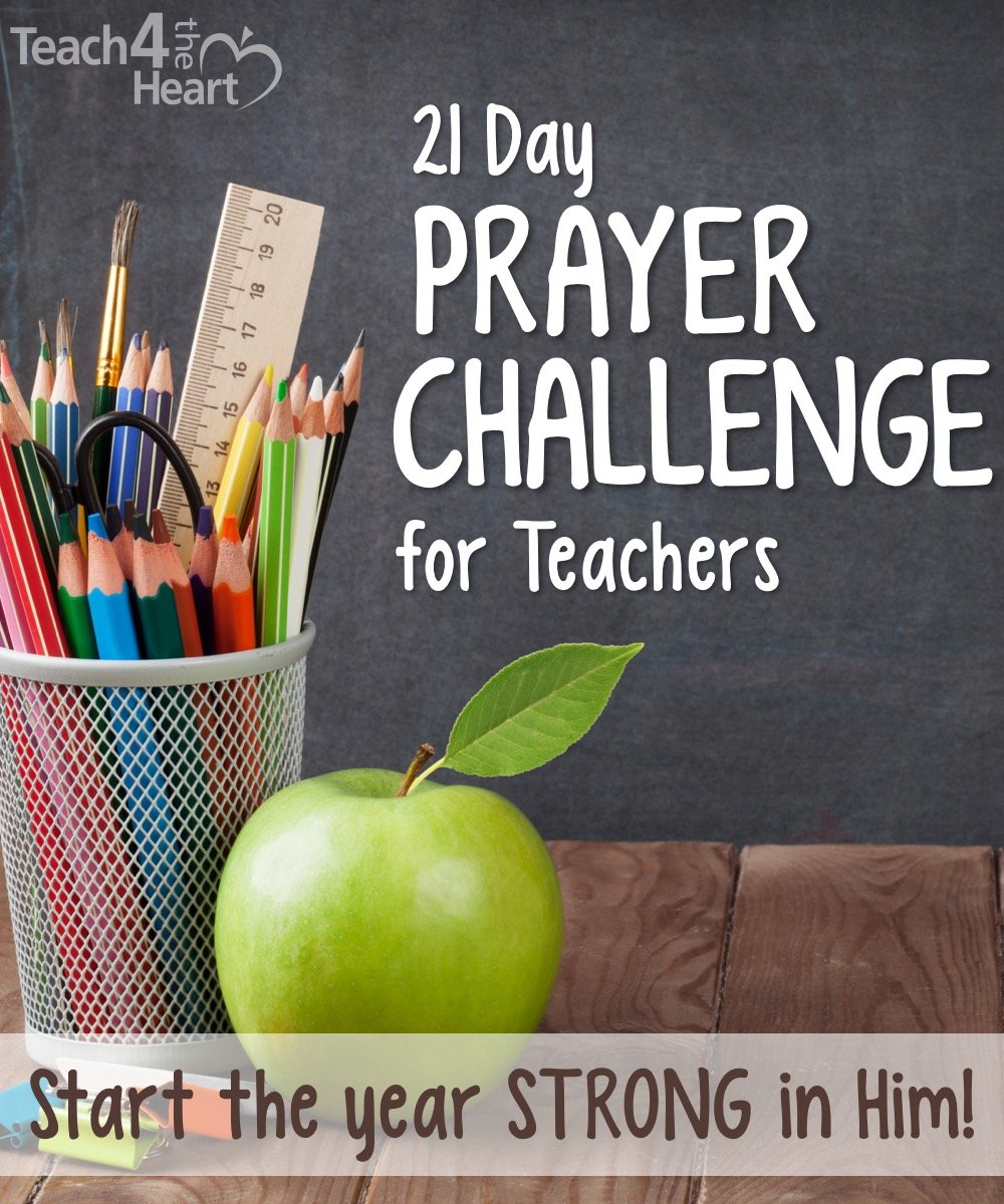 prayer challenge for Christian teachers