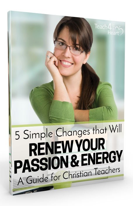 Renew Passion & Energy - guide for Christian teachers