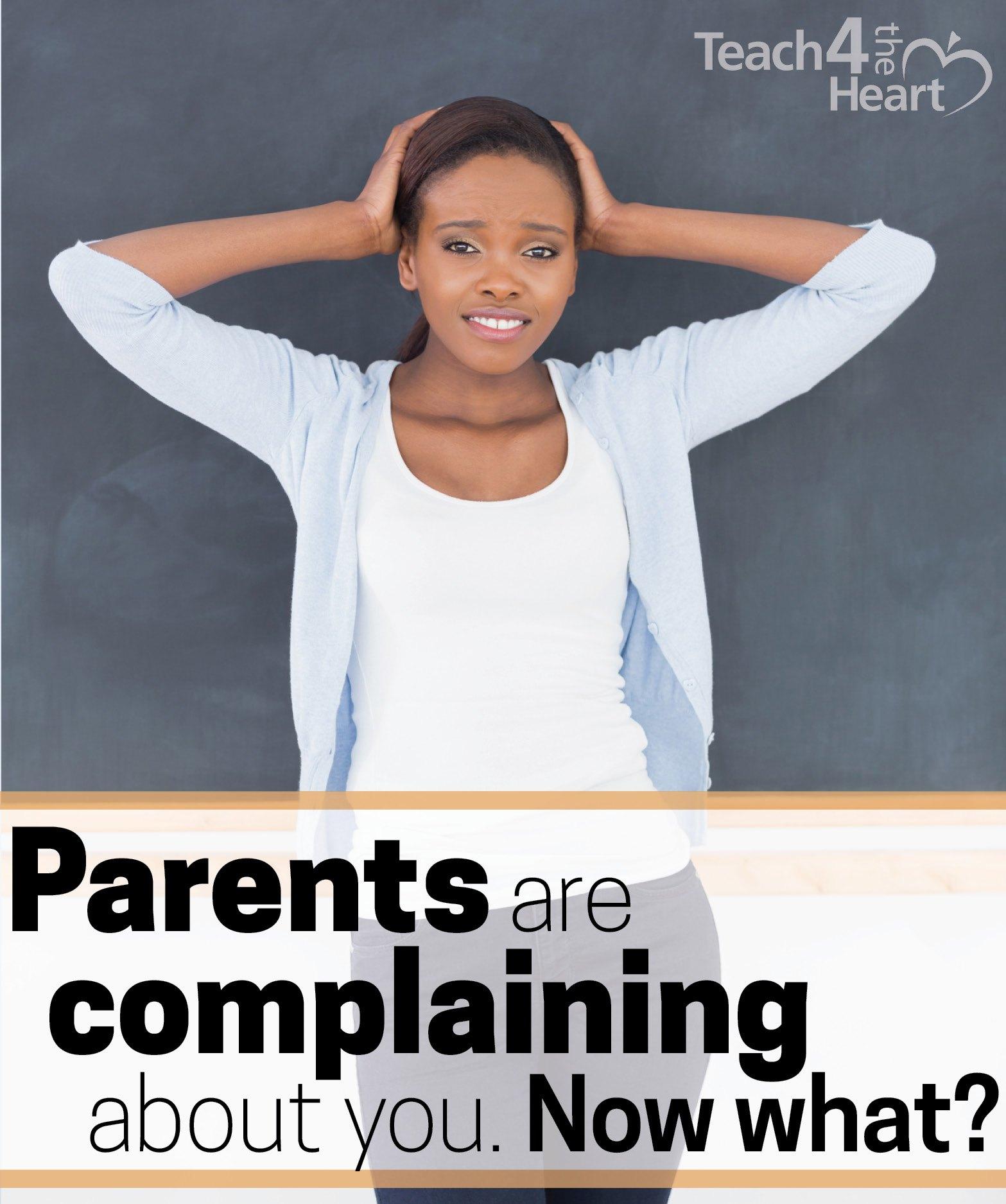 parents complaining about teacher