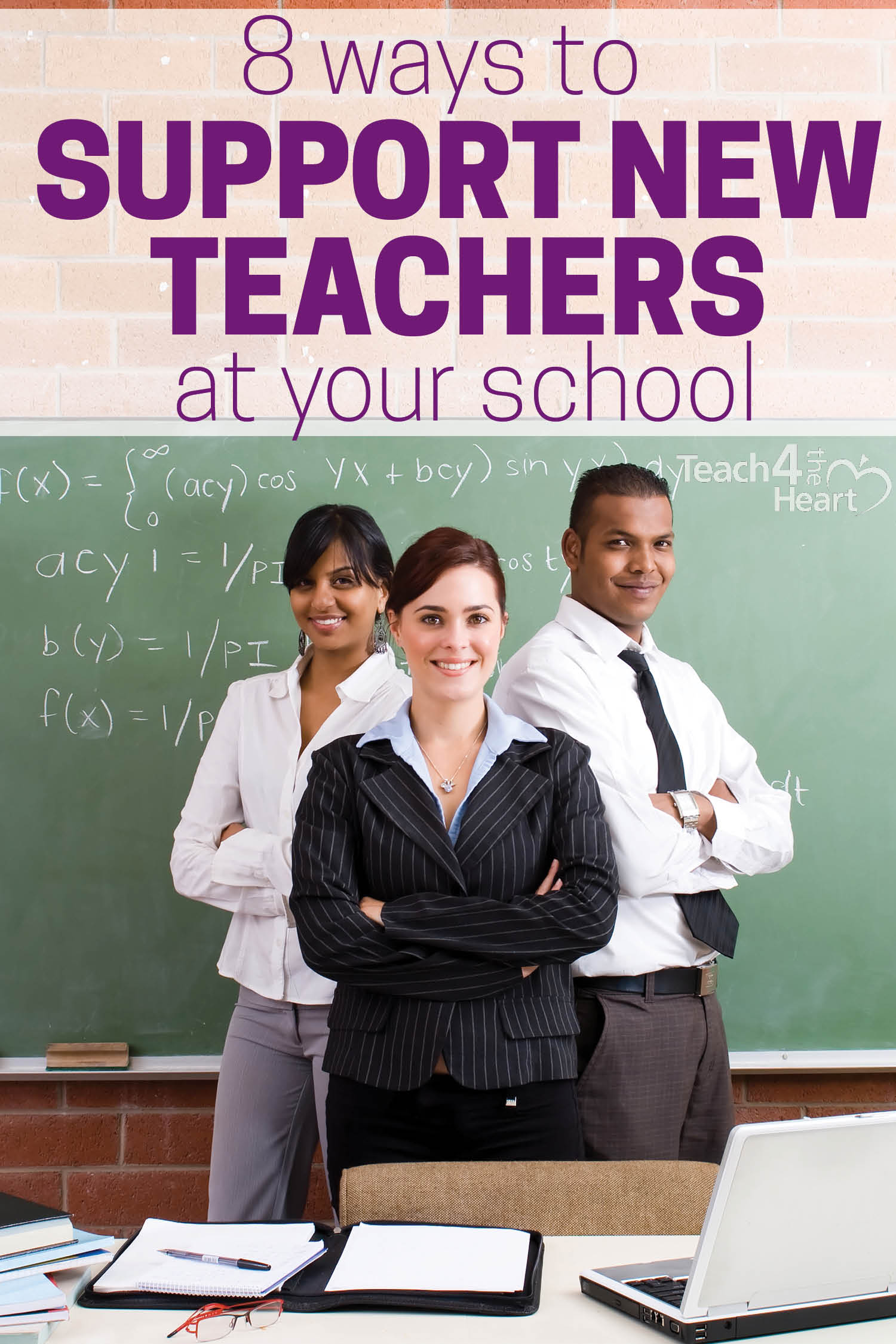 how to support new teachers at your school