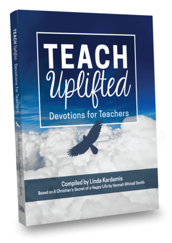 Teach Uplifted Devotions for Teachers book cover