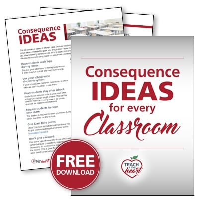 control a class with disruptive students
