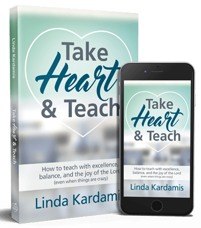 take heart and teach book for christian teachers