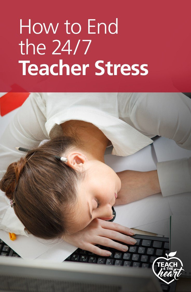 PIN End the 24/7 Teacher Stress Cycle