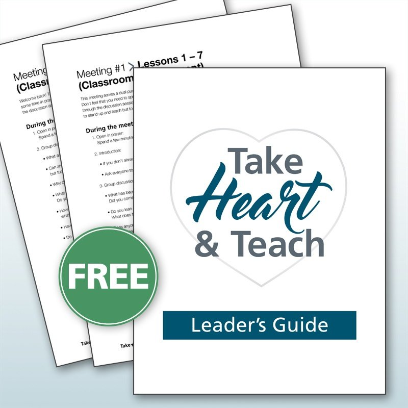 Take Heart & Teach discussion group leader's guide