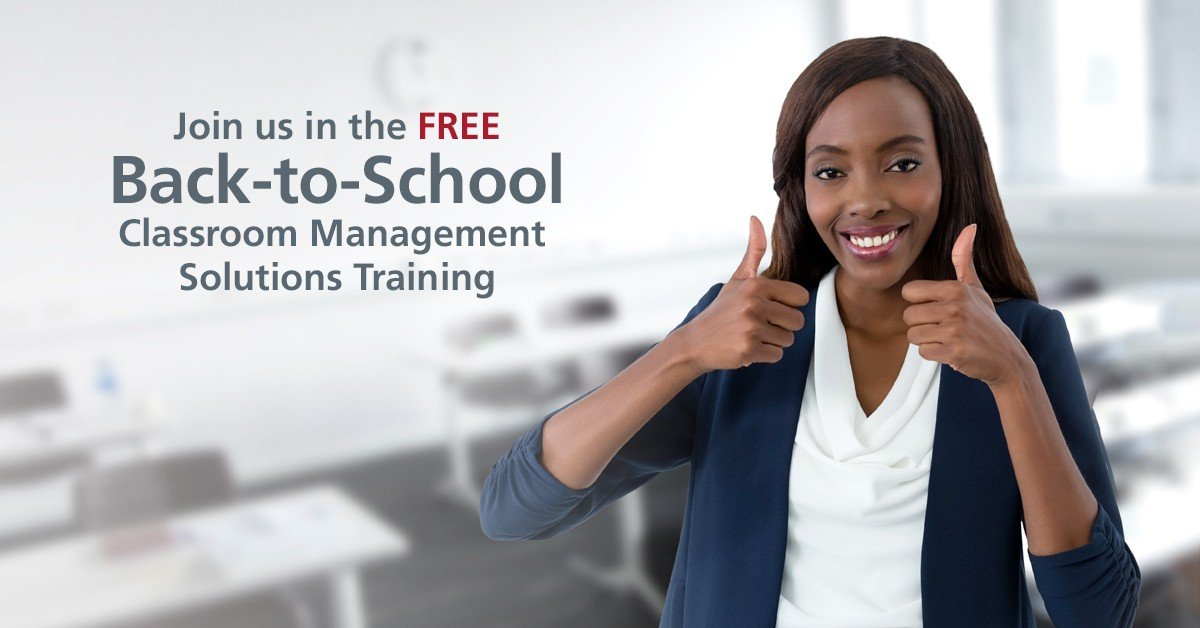 Back-to-School classroom management solutions for teachers