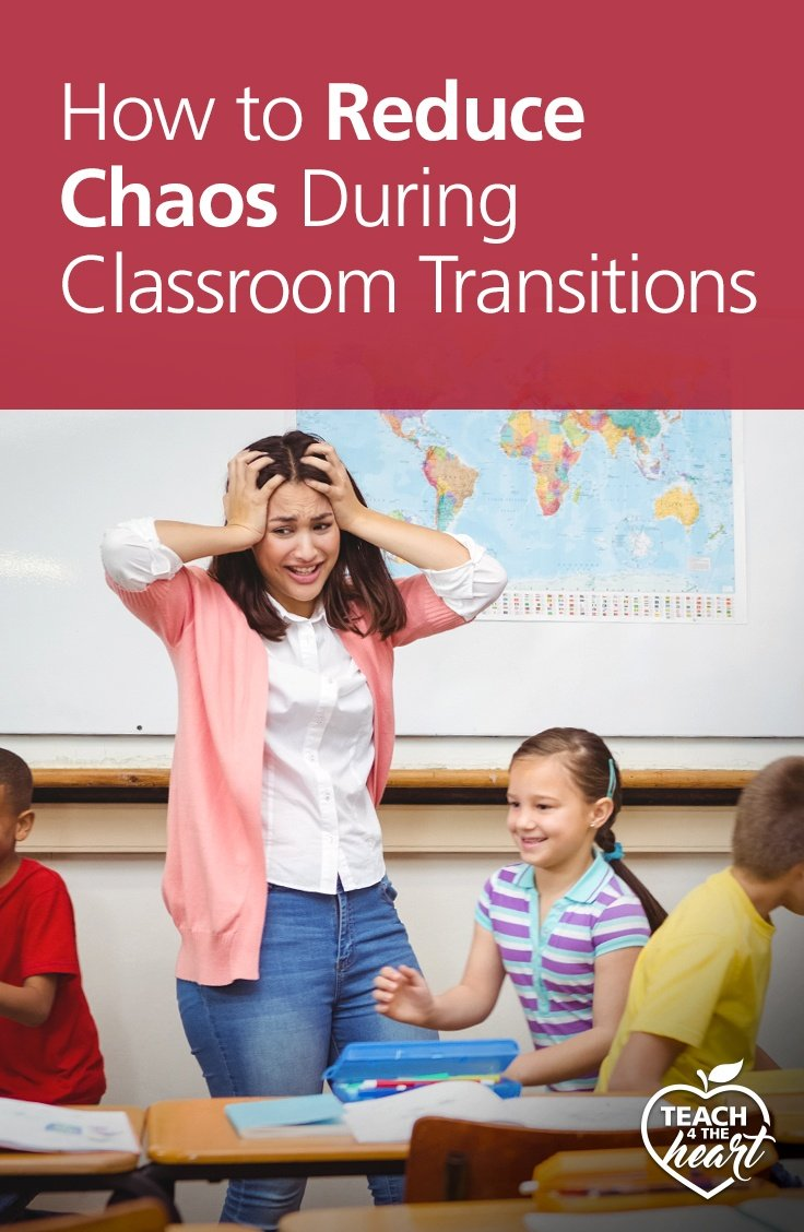 reduce chaos during classroom transitions