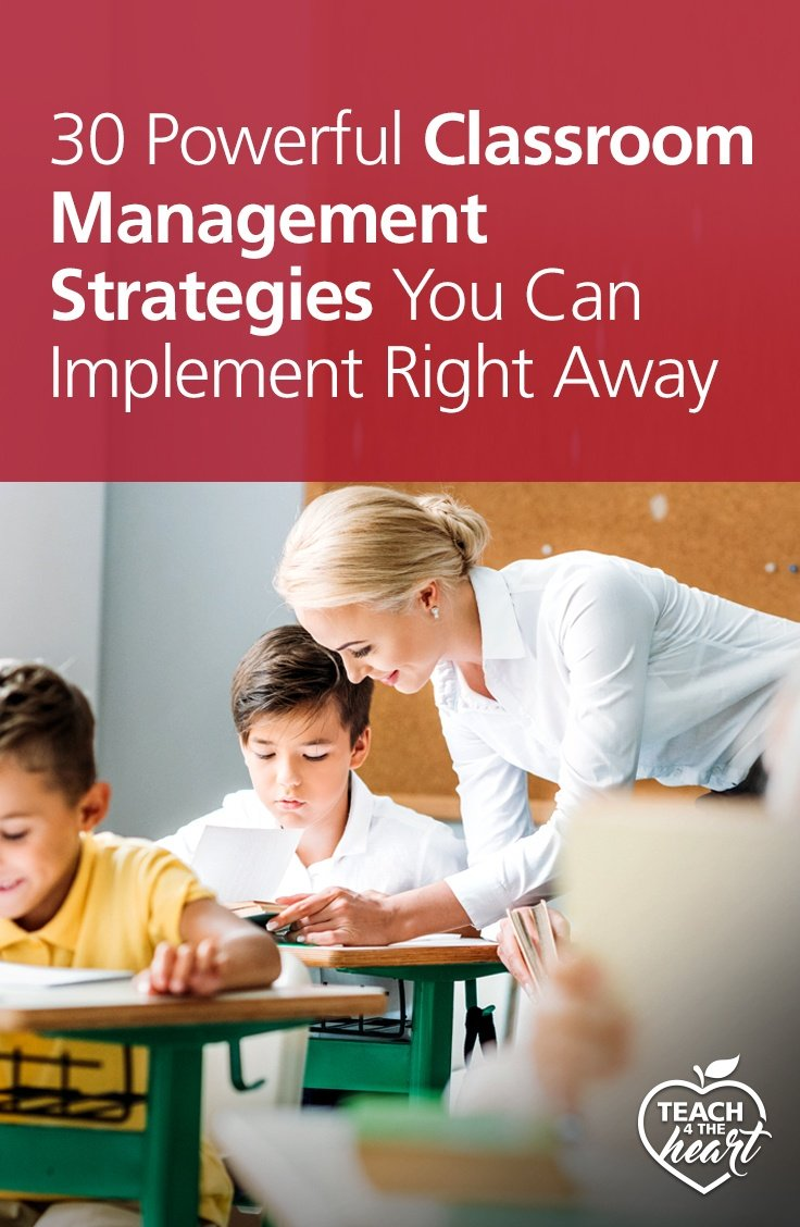 PIN 30 Powerful Classroom Management Strategies You Can Implement Right Away