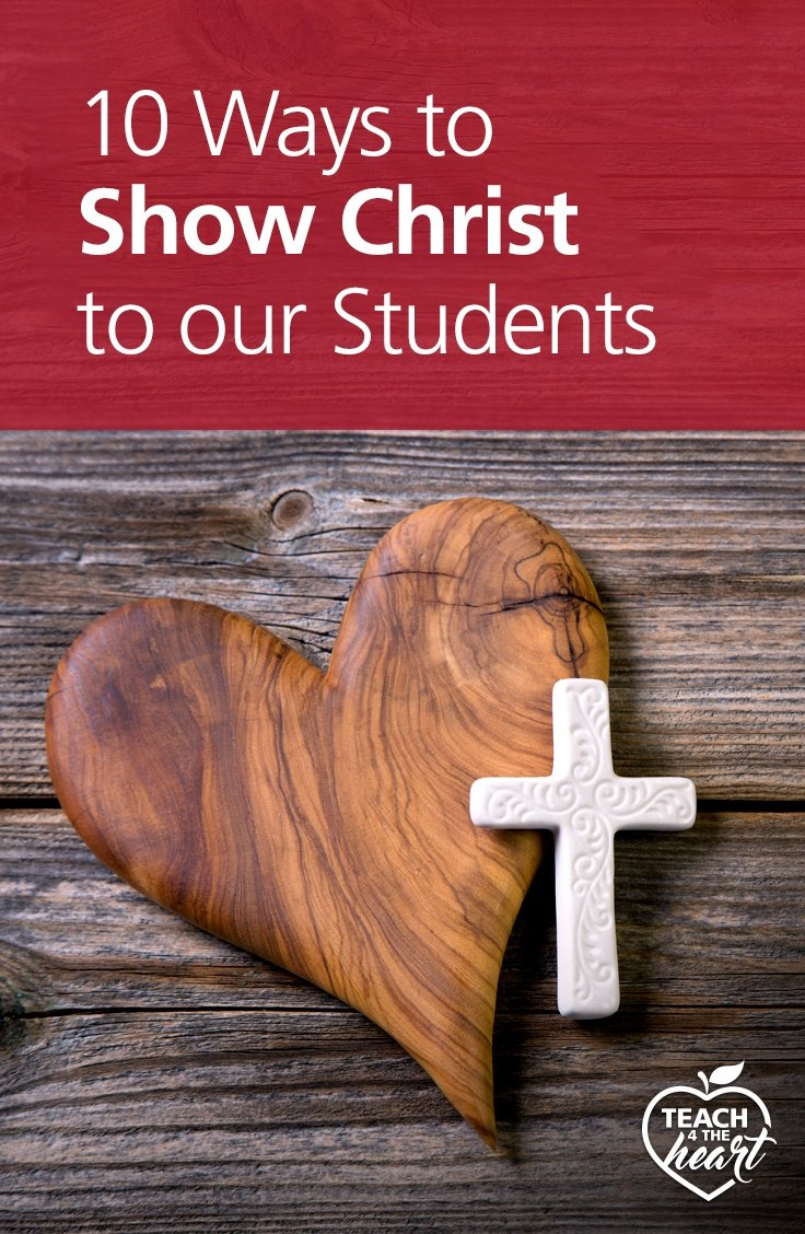 PIN 10 Ways to Show Christ to our Students